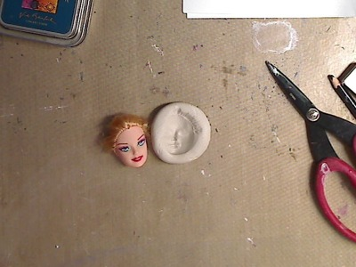 Quickie- How to Make a Mold with a Doll Head