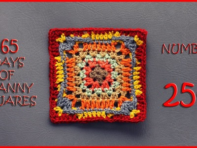 365 Days of Granny Squares Number 254