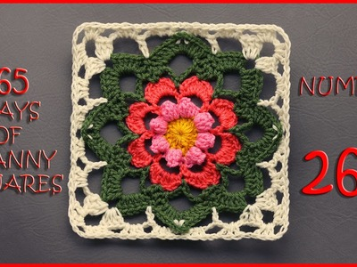365 Days of Granny Squares Number 262