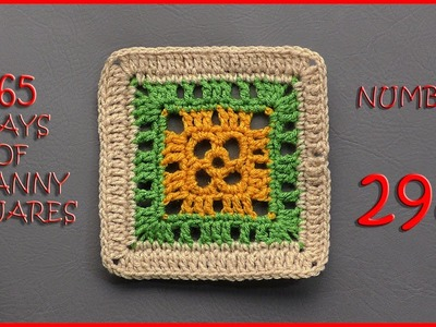 365 Days of Granny Squares Number 298