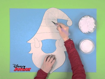 Art Attack | Christmas Elf Mask | Disney Junior UK