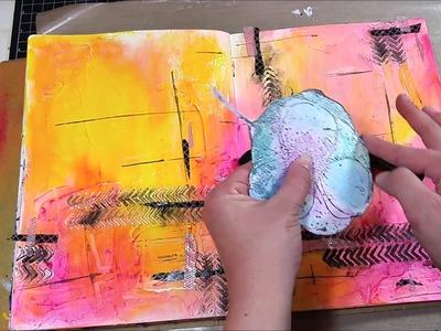 Art Journal Tutorial with Gelato Tips