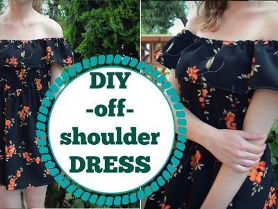 DIY off-shoulder dress (SK,EN)