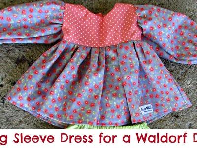 DIY | Sewing a dress for a Waldorf Doll | Sami Dolls Tutorials
