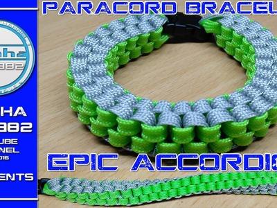 EPIC Paracord Bracelet Accordion 2016