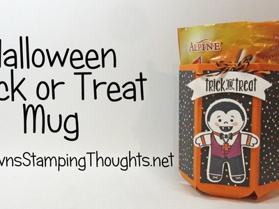 Halloween Mug featuring Stampin'Up! products