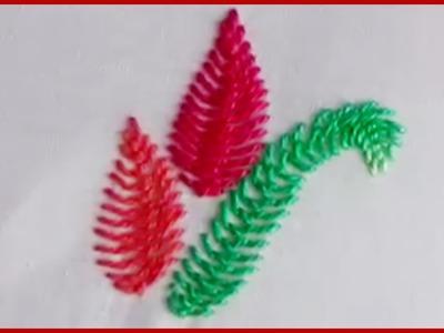 Hand Embroidery Cretan Stitch