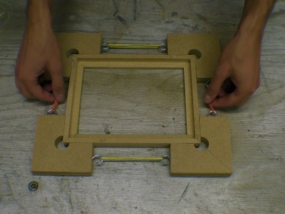 Handmade MDF Picture Frame - Moulding. Mitring. Glass Cutting