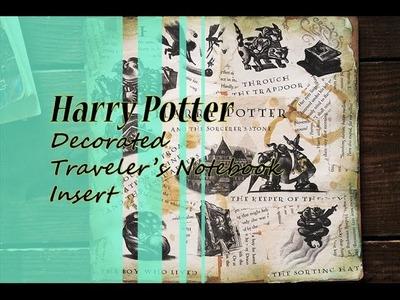 Harry Potter Decorated Traveler's Notebook Insert
