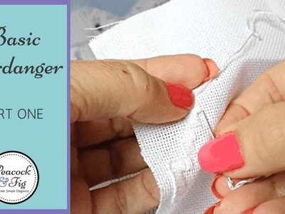 How to do basic hardanger embroidery: part 1 - experimenting with hardanger