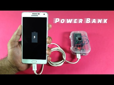 How to Make a Mobile Power Bank at Home (1000mAh)
