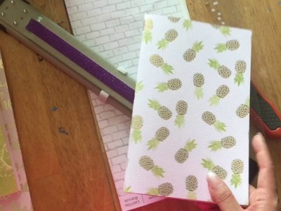 How to make Travelers Notebook and Midori Planner + Journaling Notebooks. Planner Peace Hack + DIY