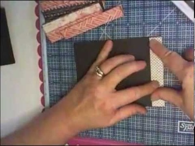 Mini album purse tutorial
