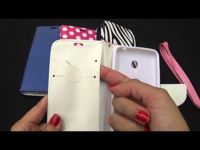 Nokia Lumia 630 Wallet Pouch Cell Phone Cover Case Overview By CellCasesUSA