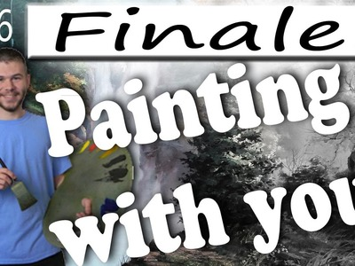 Oil Painting With You - Waterfall | Finale! Wild Flowers | Watch, Vote, Create | Ep.6
