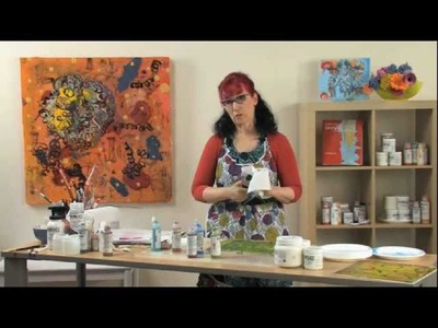 (Preview) Patti Brady: Painting Encaustic Effects with Acrylic Paint