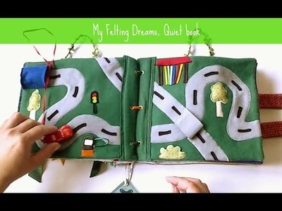 Quiet book for Patrick - handmade by My Felting Dreams