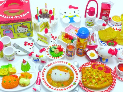 Re-Ment Collection: Hello Kitty Eating at Home