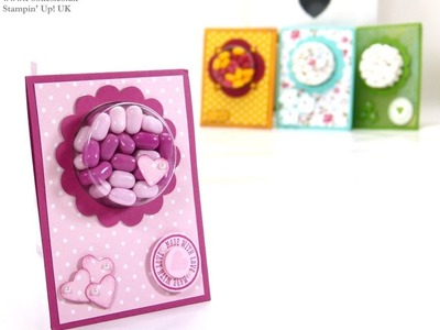 Tic Tac Sweetie Treat Cup Favours by Stampin' Up! UK Independent Demonstrator Pootles