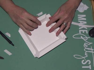 Tutorial : Shadow Box  Using 12 x 12  Card Stock
