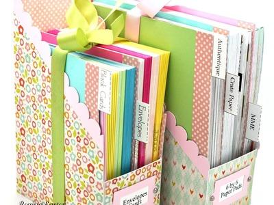 Watch Me Work Wednesdays - Episode 36 - File Folder Box Holder Set