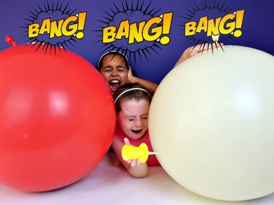 2 Giant Balloons Toy Surprise - Disney Chocolate Eggs - Orbeez - Shopkins - Animal Jam Toy Opening