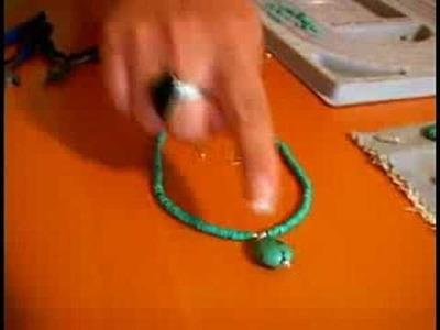 Beaded Jewelry Projects : Picking Wire for Beaded Earrings