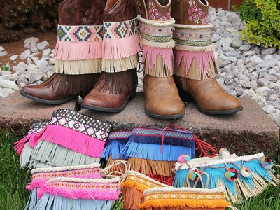 Boho Boot Covers by Create Kids Couture