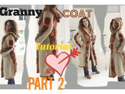 Boho Romantic   Fall Granny Coat.Part 2