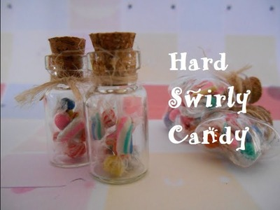Bottle Charm: Swirly Hard Candy