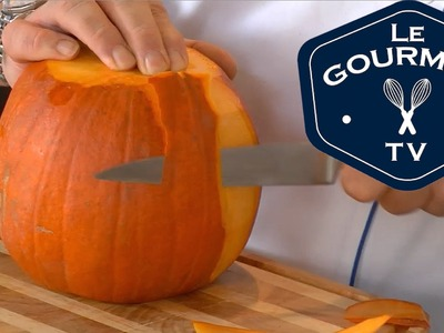 Chef Tip - How to prepare a Pumpkin - LeGourmetTV | George Brown Chef School