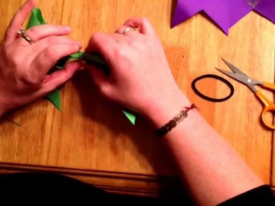 Easy how to make cheer bows!!