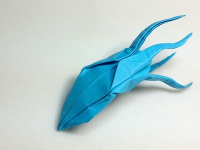 Easy Origami Cuttle tutorial (Henry Phạm)