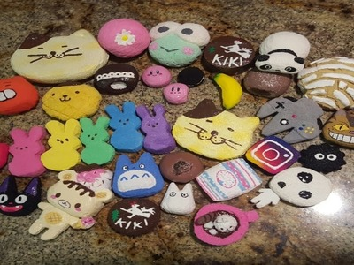 Homemade squishy collection