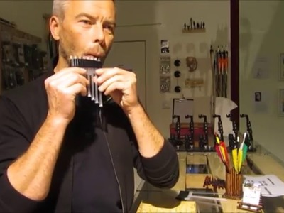 How to build a pan flute out of drinking straws