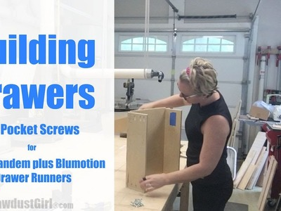 How to Build and Install Drawers for Blum Glides