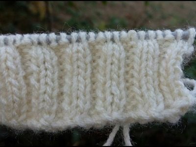 How to Knit a Border | Border Design