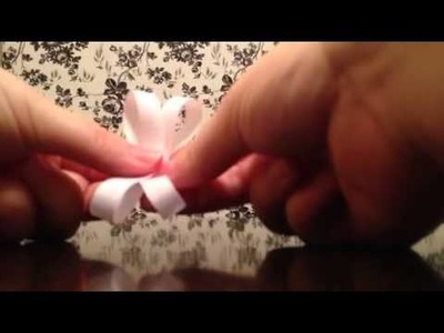 How to make a baby hair bow easy