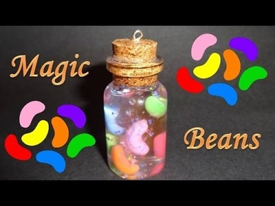How to Make a Magic Beans Miniature Bottle Charm