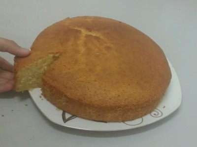 How To Make Soft Sponge Cake