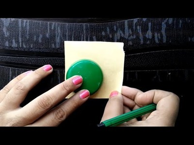 Making base for silk thread jhumka using cardboard|Silk thread jewelry base tutorial#2