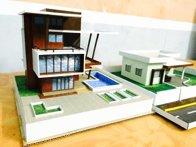 MODEL MAKING OF MODERN ARCHITECTURAL BUILDING