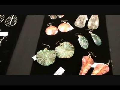 Muir Woods Handmade Copper Patinated Earrings Video