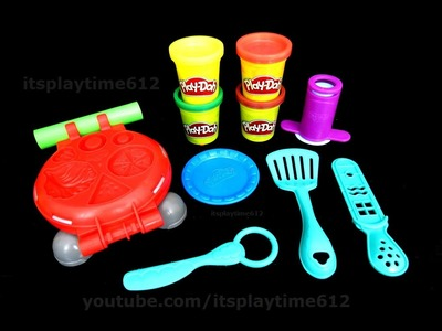 Play-Doh BURGER BARBECUE Fun Creativity for Little Kids | itsplaytime612