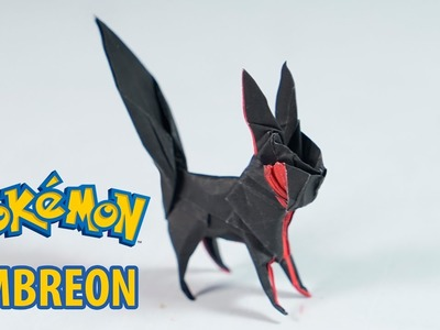 POKEMON - Origami Umbreon Tutorial (Henry Phạm)