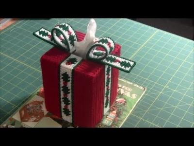 Tissue Box Cover (Plastic Canvas Project)