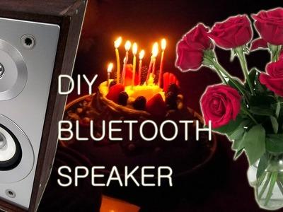 Birthday Present DIY Bluetooth Speaker In Her Kitchen