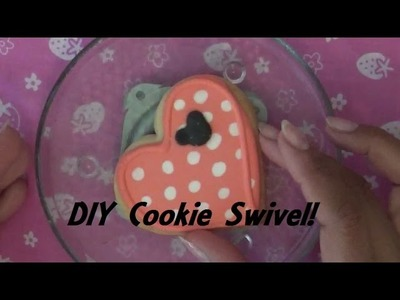 DIY Cookie or Cupcake Swivel! Makes Decorating Easier!