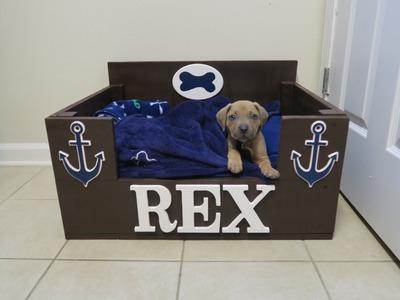 DIY DOG BED | WOODEN BED