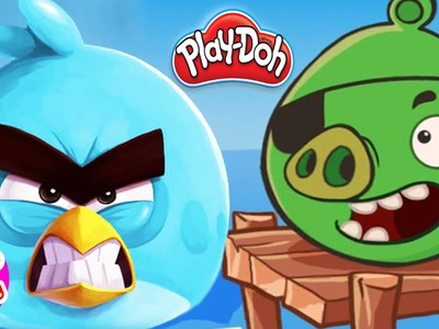 DIY How to make  Play Doh Angry Birds Games - Play Doh Creations, Playdough videos - Play doh 2016
